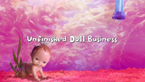 Unfinished Doll Business Card