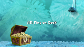 All Fins on Deck title card