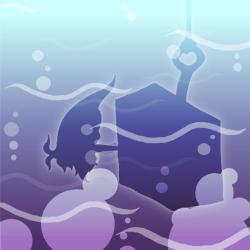 Ice-ice-miny shadow
