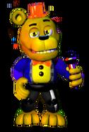 Goldbearfrontface