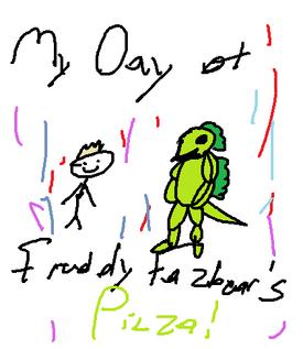 Ivan child drawing
