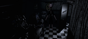 Puppet Backstage