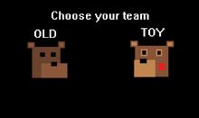 Team Choose Screen
