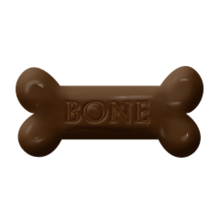 Chocolate bone