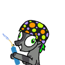 Napalm pony pet