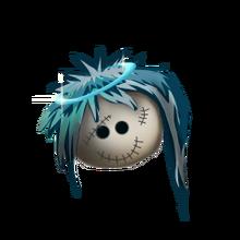 Angelic emo doll head