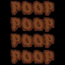 Poop poop poop