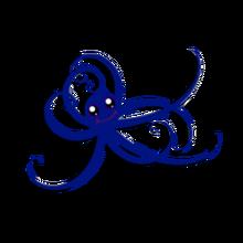 Blue Pet Octopus