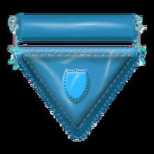Nylon badge