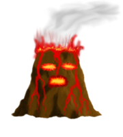 Lavas pet volcano