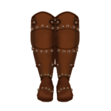 Leather leg armor