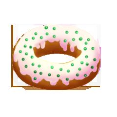 File:Sprinkled donut.png