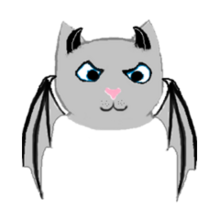 Fluffy the bat pet