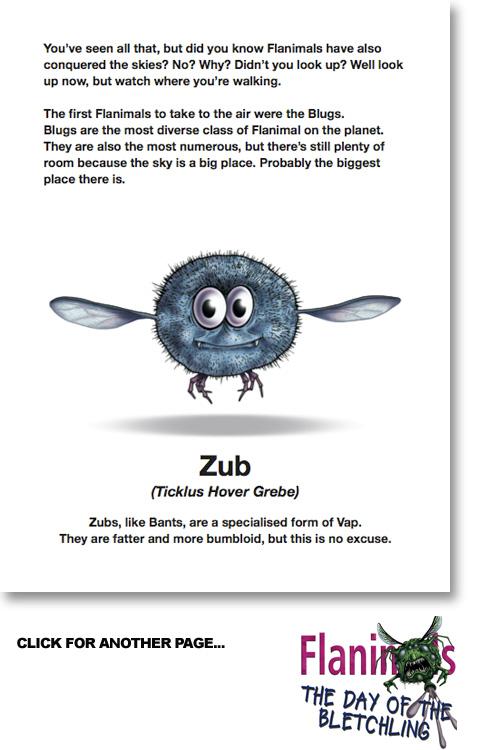 Zub A Flanimals Wiki Fandom Powered By Wikia