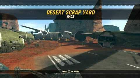 Desert Scrap Yard. Overview
