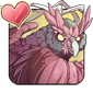 Sakura Owl Icon