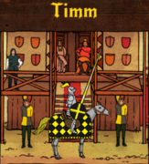 Timm knighted