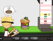 Burgerzilla at papa's burgeria