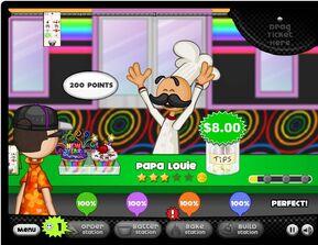 6TH Papa Louie Papa's Cupcakeria