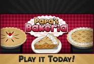 Play it today! Papa's Bakeria