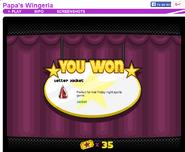 9 prize Pachinko Wingeria