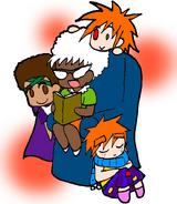 Edna, Xandra, Ximenez and Xolo