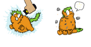 4991 - abuse artist the mungoman electrocution original art reset