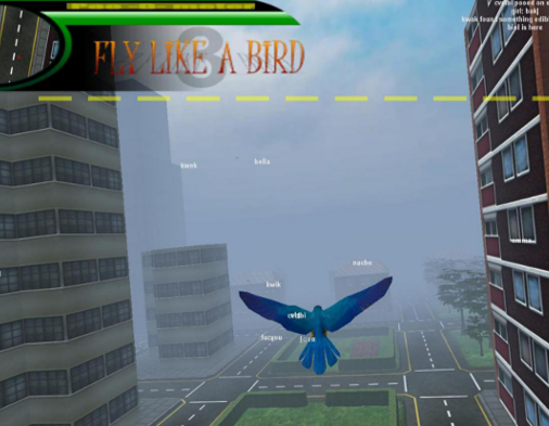 Fly Like a Bird - Free Y8 Games Online