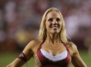 Washington Redskins cheerleader @ game vs New England Patriots 07