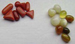 Coral gemstones