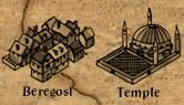 Beregust temple