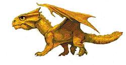 Bronze dragon hatchling