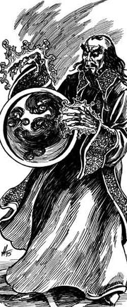 Szass Tam and the Death Moon Orb