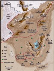 Anauroch Map DR 1374