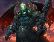 Mannoroth the Flayer TCG CoT-T 054