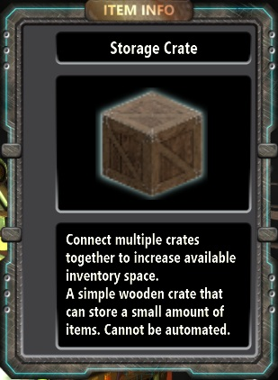 Storage Crate Fortresscraft Evolved Wiki Fandom