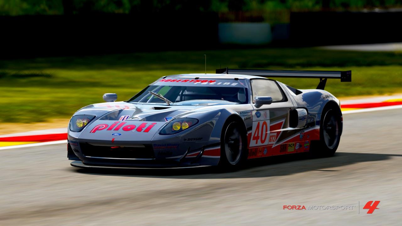 2009 40 Robertson Racing Ford GT Mk7   Forza Motorsport 4 ...