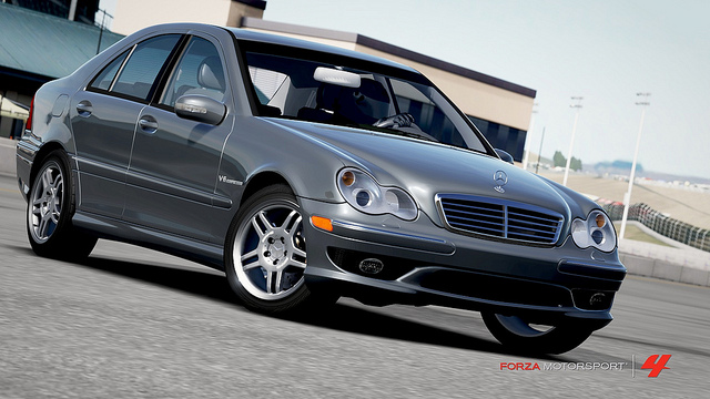 2004 c32 amg forza motorsport 4 wiki fandom powered by. Black Bedroom Furniture Sets. Home Design Ideas