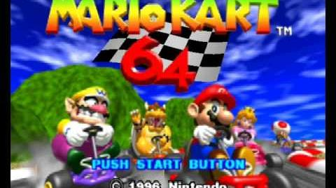 Mario Kart 64 Intro