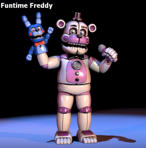 Funtime Freddy Minecraft Skin