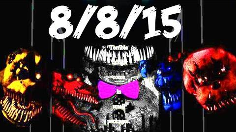 Five nights at freddy s 4 official release date fnaf 4 new 8 8 2015