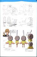 Guidebook Miho and Iwatobi-chan Design