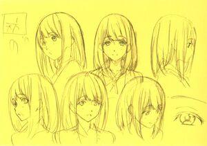 Miho Rough Sketch