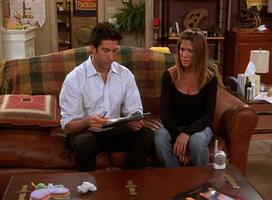 Ross & Rachel (9x05)