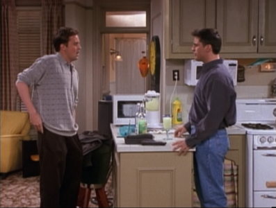 Chandler and Joey (4x07)