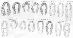 Rachels hairdoes