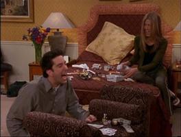 Ross and Rachel in Hotel Room2
