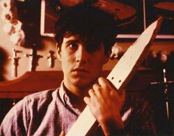 Fright Night 1985 William Ragsdale Stake