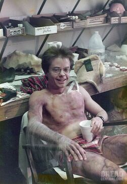 Fright Night Stephen Geoffreys Werewolf Makeup