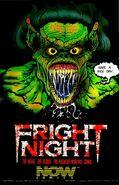 Fright Night the Comic Series ad